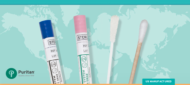 Sterile Swabs Medical Testing Kits Point of Care