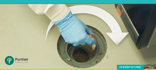 Collect Environmental Sample Floor Drain