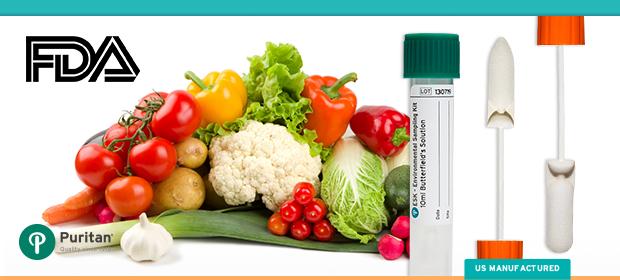 environmental sampling devices food safety modernization act