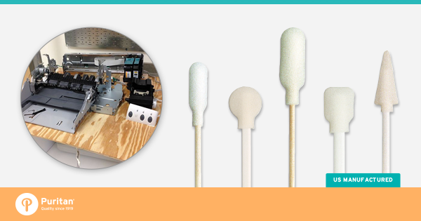 Swab Central The Foam Tipped Applicators Industrial Uses