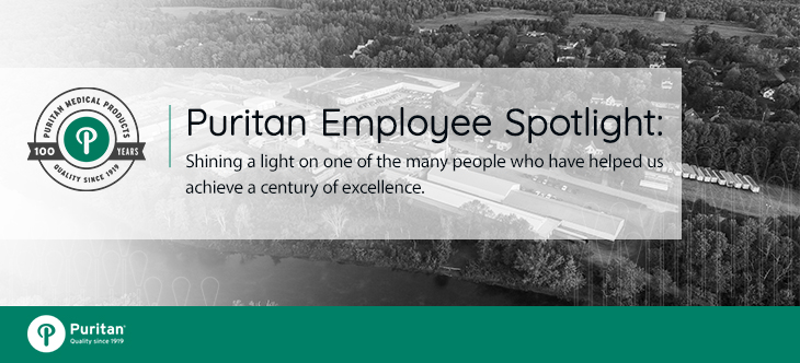 Puritan Employee Spotlight: Nature Cookson