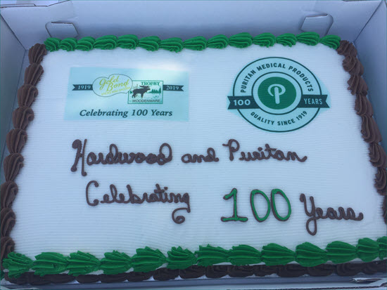 Puritan and Hardwood's 100th Anniversary Party a Hit with the Hometown Crowd