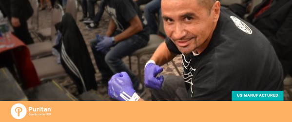 Customer Story: Puritan Swabs a Champion in the Boxing Ring
